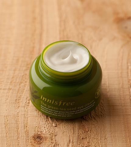 Крем для глаз зеленый чай Innisfree картинка