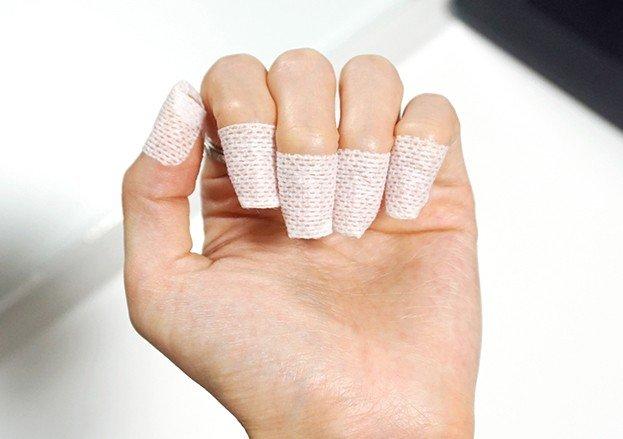маска пластырь для ногтей применение