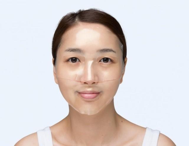 Маска гидрогелевая для лица с рубиновой пудрой применение