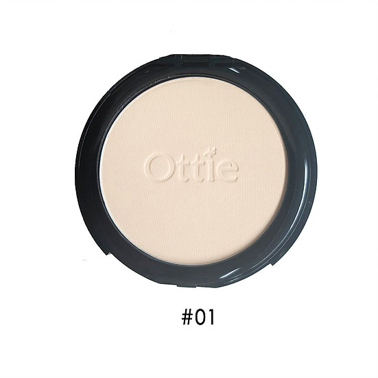 Шелковистая компактная пудра 01 Ottie