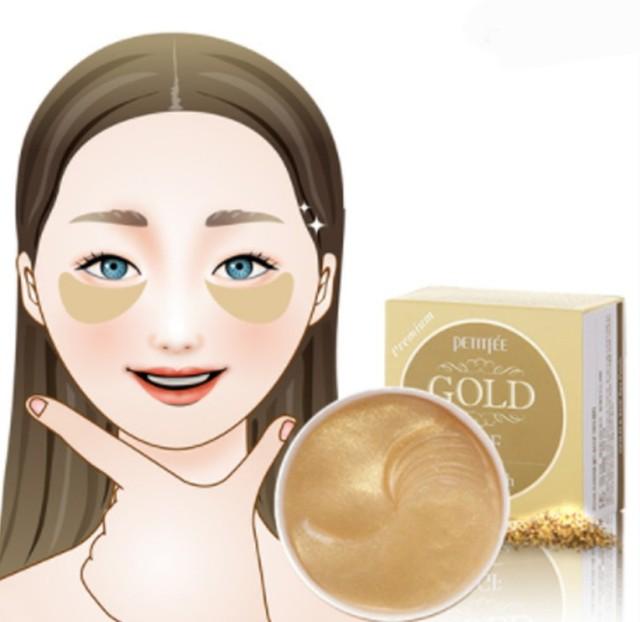 Патчи с золотом Premium Petitfee 60 шт карти