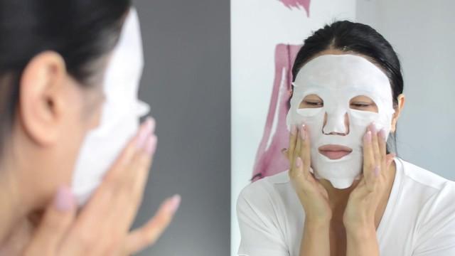 очищающая маска (бело-красная капсула) карт