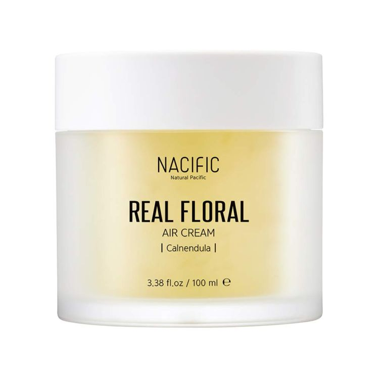 Крем для лица с экстрактом календулы Nacific Real Floral Air Cream (Calendula)