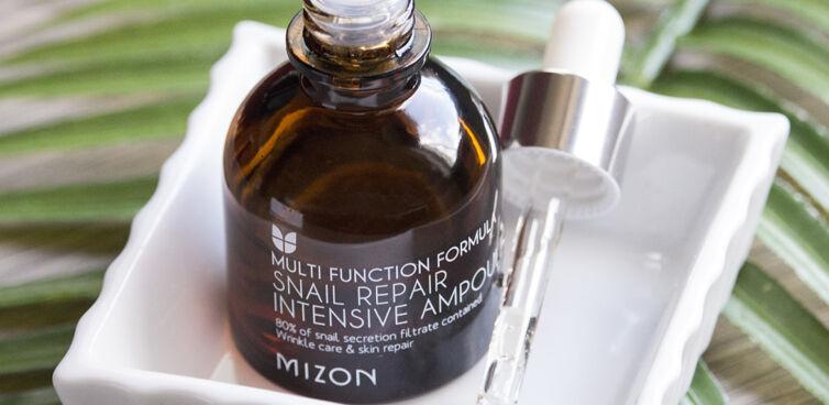Сыворотка с экстрактом слизи улитки MIZON