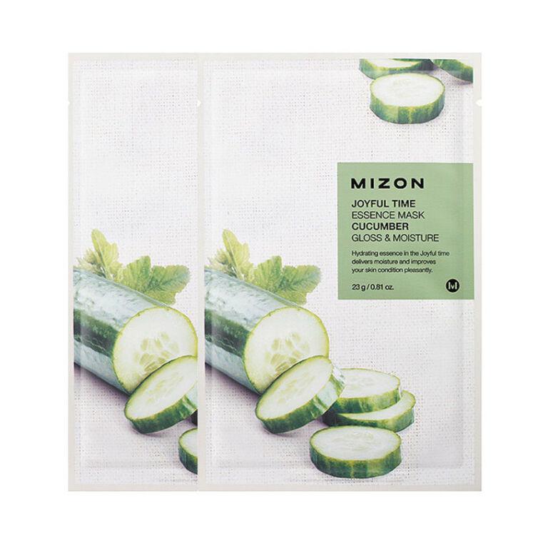 Тканевая маска для лица с экстрактом огурца MIZON