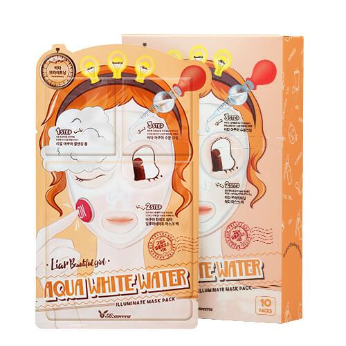 Трехшаговый осветляющий набор для лица Elizavecca