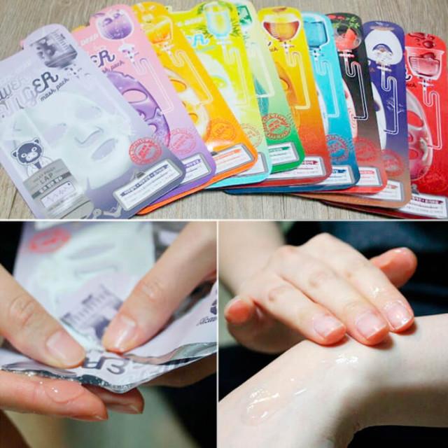 тканевая маская карт