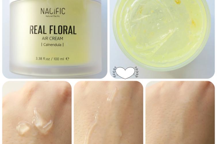 Крем для лица с экстрактом календулы Nacific Real Floral Air Cream (Calendula)