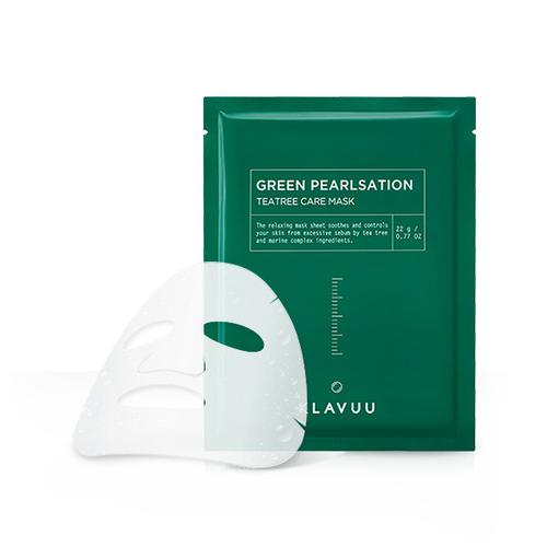Расслабляющая маска с с экстрактом чайного дерева Klavuu